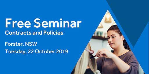 Free Seminar: Contracts and policies – Forster, 22nd October