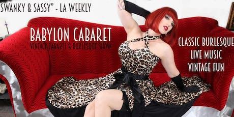 Babylon Cabaret: Best Of Babylon tickets