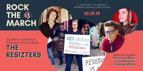 Rock the March | A Concert to Benefit Women's March San Diego tickets