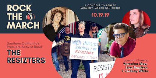 Rock the March | A Concert to Benefit Women's March San Diego