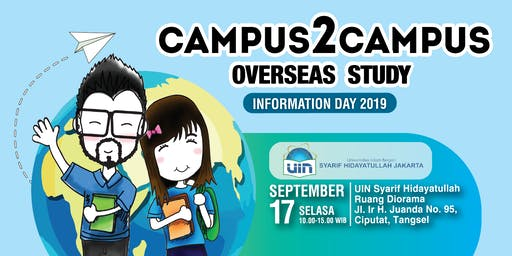 Campus 2 Campus Overseas Study - Information Day 2019