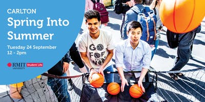 RMIT Spring Into Summer - Carlton