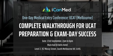 One-Day Medical Entry Conference: Free UCAT Workshop (MELB) tickets