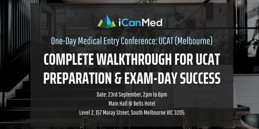 One-Day Medical Entry Conference: Free UCAT Workshop (MELB)