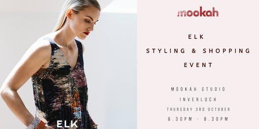 ELK STYLING & SHOPPING EVENT @ Mookah Studio INVERLOCH