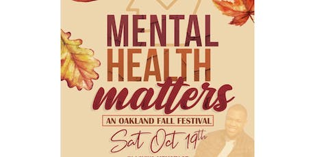 Mental Health Matters: A Fall Festival in honor of Jamauriya tickets