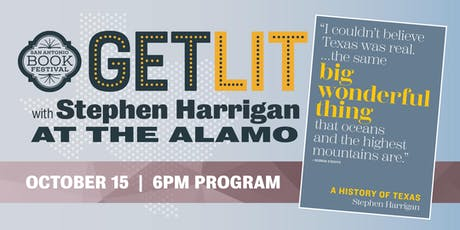 GET LIT with Stephen Harrigan tickets