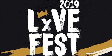 LxVE Fest 2019 tickets
