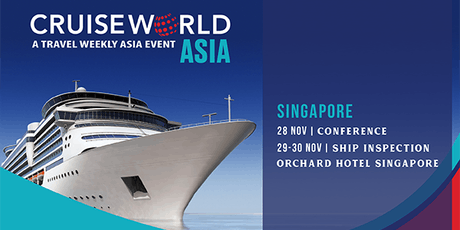 CruiseWorld Asia 2019 tickets