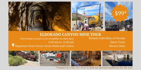 Half Day Tour to Eldorado Canyon Mine from Las Vegas tickets