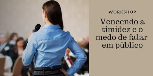 Workshop: vencendo a timidez e falando em público