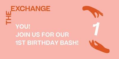 The Exchange's 1st Birthday Bash!
