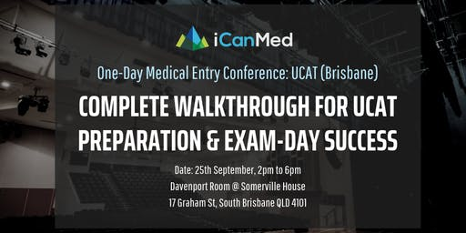 One-Day Medical Entry Conference: Free UCAT Workshop (BRIS)