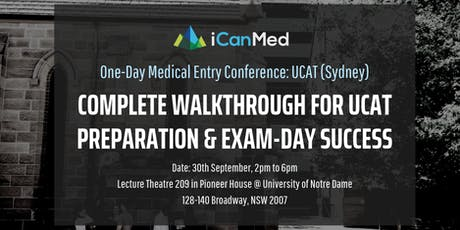 One-Day Medical Entry Conference: Free UCAT Workshop (SYD) tickets