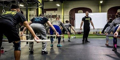 event image Olympic Weightlifting Seminar + 4 week workshop - CF Seize the Day