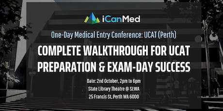 One-Day Medical Entry Conference: Free UCAT Workshop (PERTH) tickets