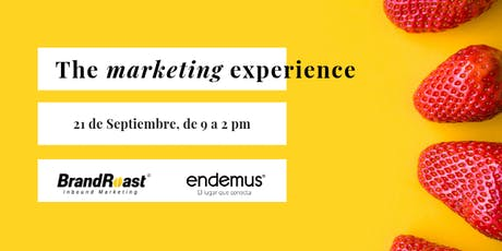 The Marketing Experience tickets