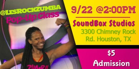 @LesRockZumba Pop-Up Class tickets