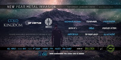 New Year Metal Invasion feat. Of Virtue, Cold Kingdom, Immortalis & more!