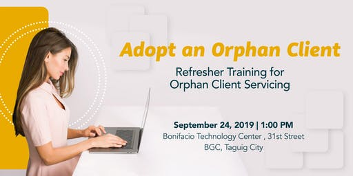 Adopt an Orphan Client - Manila 1A Exclusive