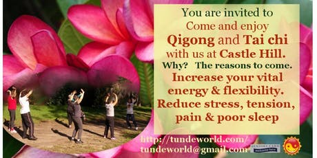 Make harmony between yin and yang with Qigong on Monday tickets