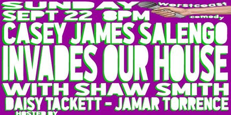 Casey James Salengo Invades Our House! tickets