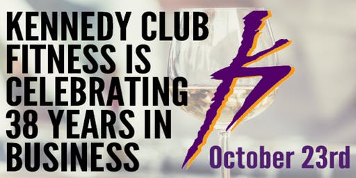 Help us Celebrate Kennedy Clubs Fitness - 38th Anniversary!