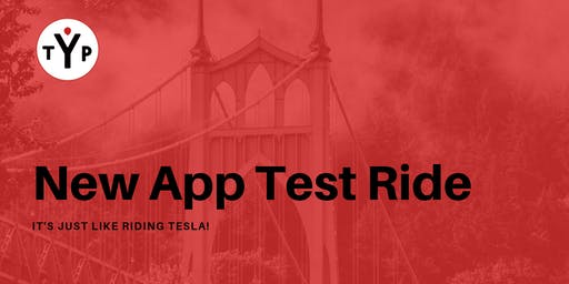 New App Test Ride