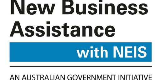 NEIS: New Enterprise Incentive Scheme: Business Start Up (Ages 16+) (Woden Library)