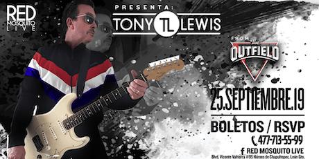 TONY Lewis® La voz legendaria de The Outfield entradas