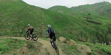 Mountain Bike Ride/Sycamore Canyon at Beach