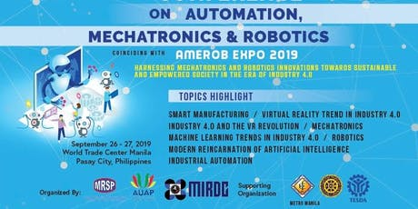 INT'L CONFERENCE AUTOMATION, MECHATRONICS ROBOTICS tickets