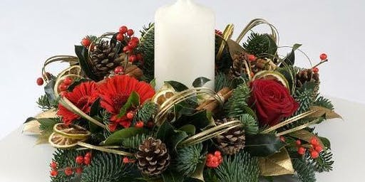 Festive table arrangement workshop