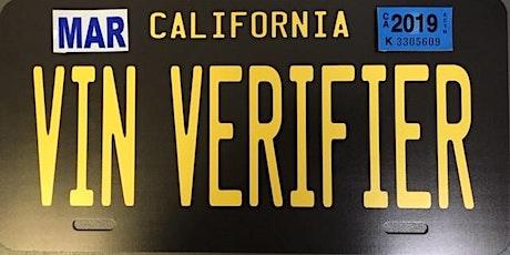 Fresno DMV Verification Agent Seminar tickets