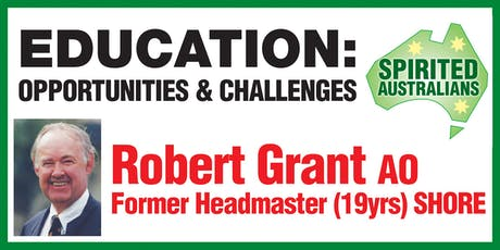 EDUCATION: OPPORTUNITIES & CHALLENGES tickets