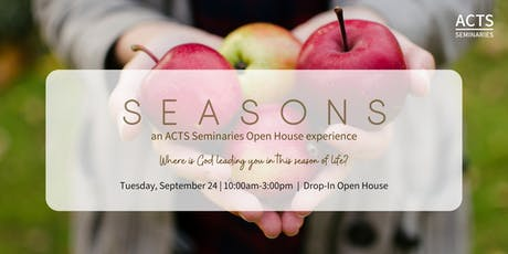 ACTS Seminaries Drop-In Open House  tickets