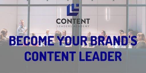 Content Leaders Academy masterclass (Brisbane)