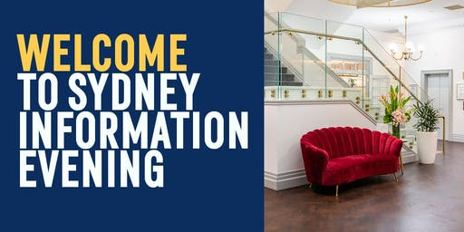 The Hotel School Sydney Information Evening