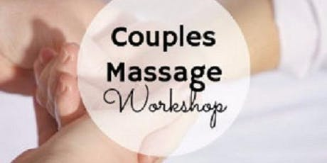 Massage workshop for beginners (couples) tickets