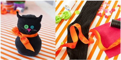 Halloween sock catz (Mudgee Library, ages 9-12)