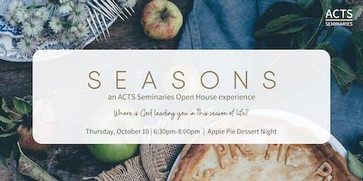 ACTS Seminaries Apple Pie Dessert Night Open House