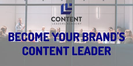 Content Leaders Academy masterclass (Perth) tickets