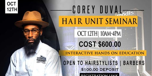 Male Hair Unit Seminar