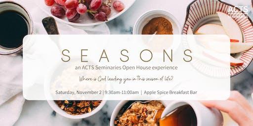 ACTS Seminaries Apple Spice Breakfast Bar Open House
