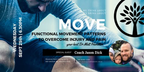 MOVE - Functional Movement Patterns to Overcome Injury & Pain  tickets