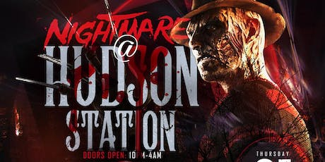NIGHTMARE AT HUDSON STATION (  Halloween party ) tickets