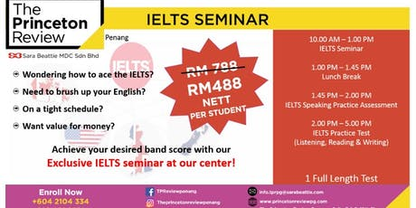 IELTS Seminar tickets