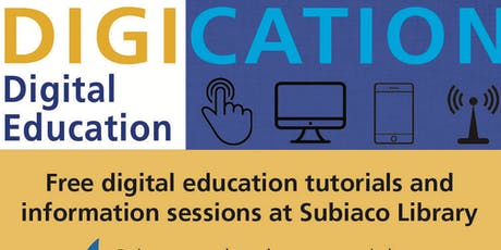 Digication: E-Resources - references and databases tickets