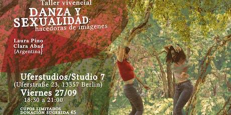 """Taller """"Danza y sexualidad"""" tickets"""