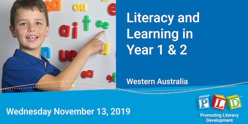 Literacy and Learning in Year 1 & 2 November 2019